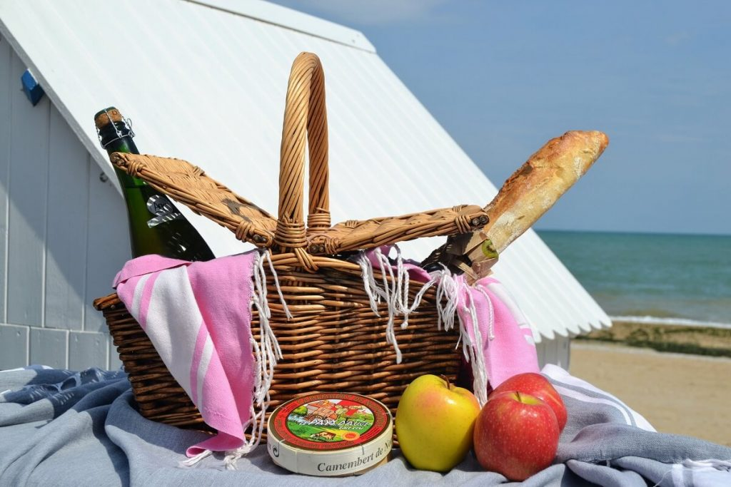 picnic beach norman products gastronomy